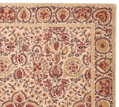 Pottery Barn Runner Rug Helios Printed Rug Terracotta Pottery Barn