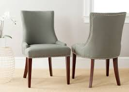 Brown Leather Dining Chairs With Nailheads Mcr4502d Dining Chairs Furniture By Safavieh