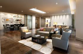 Modern Great Room - family room best ideas about great layout awesome living design