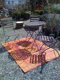 Round Outdoor Rugs by Outdoor Animal Print Rug Deck Contemporary With Beach Deck Dining