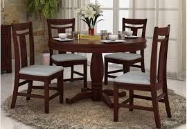 Seater Dining Table Set Online  Dining Table Four Seater Set - Four dining room chairs