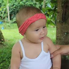 baby headwrap knot headband orange headband baby headwrap orange turban