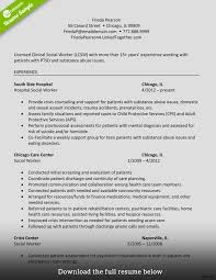social worker resumes hospice social worker resume sle work exle as image