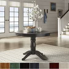 Round Pedestal Dining Tables Round Dining Room U0026 Kitchen Tables Shop The Best Deals For Nov