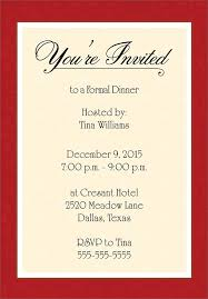 Formal Invitations Formal Invitation Template Free Futureclim Info