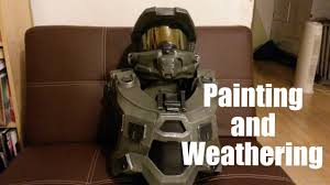 halo 4 costume painting and weathering tutorial youtube