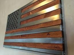 3 dimensional wood wall metal wood flags metal of wisconsin