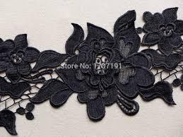 black lace trim black venise trim bridal wedding lace trim gorgeous