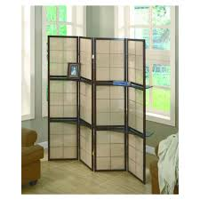 interior best room divider design with fold able frames and cream
