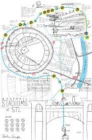 making busch stadium u2013 stadium graph