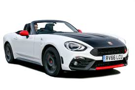 fiat spider white fiat 124 spider convertible review carbuyer