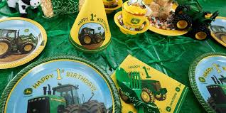 john deere 1st birthday party supplies kids party supplies