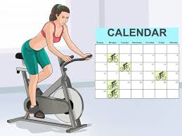 4 ways to do indoor cycling wikihow