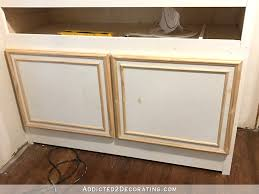 Make Kitchen Cabinet Doors by Simple Diy Cabinet Doors Make Cabinet Doors With Basic Tools