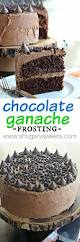 chocolate ganache cake decoration chocolate ganache frosting shugary sweets