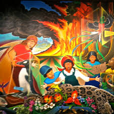 Denver International Airport Murals Pictures by Denver Airport Conspiracy The Sarvases