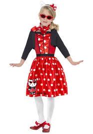 hello kitty retro 50 u0027s cherry child costume escapade uk