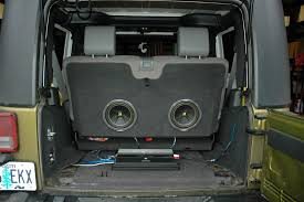 jeep wrangler speaker box which subwoofer is right for jeep jk forum