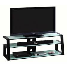 Studio Rta Glass Desk by Techni Mobili Rta 7733 Bk Tempered Frosted Glass 65 Tv Stand