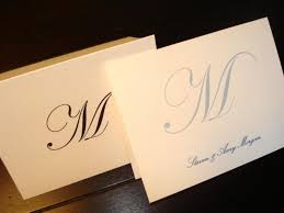 personalized cards wedding 50 personalized note cards custom thank you notes blank inside