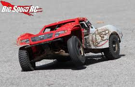 baja trophy truck horizon hobby losi baja rey desert truck review big squid rc