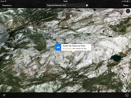 Map Of Yosemite You Can Now Take A Flyover Tour Of Yosemite National Park In Apple