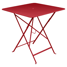 Emu Bistro Table Bistro Folding Table 71 X 71 Cm By Fermob Connox