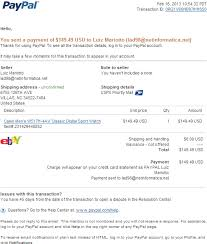 email phishing scam fake paypal receipt for your paypal payment