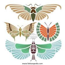 indian butterfly designs 3