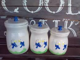 miniature canister set vintage canister set canister set
