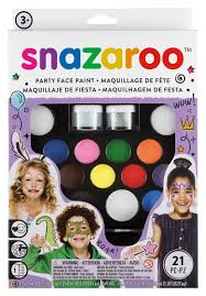 amazon com snazaroo face paint ultimate party pack toys u0026 games