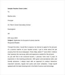 teaching cover letter cover letter as a teacher teachers cover