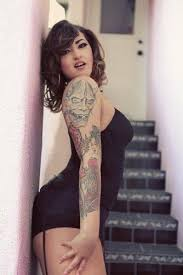 56 best tattooed girls images on pinterest tattooed girls