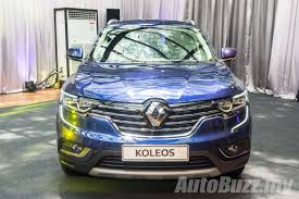 renault koleos 2016 black 2016 renault koleos 2 5l launched in malaysia priced at rm172k