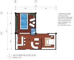 cool 3d rectangular house floor plan come with modern house