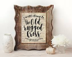 Play The Old Rugged Cross Old Rugged Cross Etsy