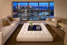 ottoman ideas for living room ottoman decor ideas living room contemporary with leather coffee