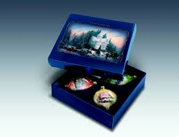 kinkade light up the season ornament set the