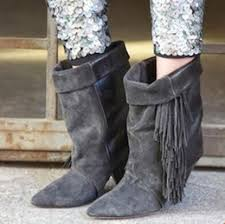 Grey Wedge Ankle Boots Discount Fringe Wedge Ankle Boots 2017 Fringe Wedge Ankle Boots
