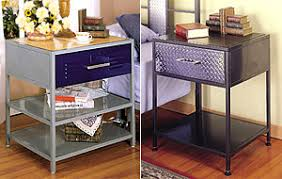 Metal Locker Nightstand Furniture Bedroom Furniture