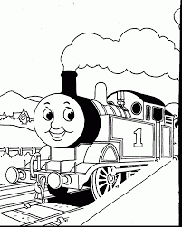 brilliant thomas the train coloring pages printable with thomas