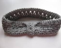 crochet band crochet hair band etsy