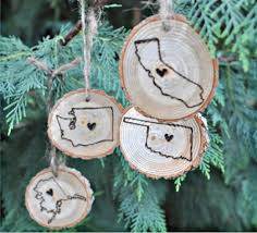 wood burned state ornaments 4 99 reg 8 99