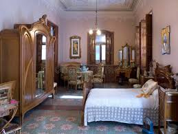 art nouveau bedroom art nouveau spanish bedroom interior editorial image image of