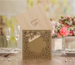 Handmade Wedding Invitation Cards Online Buy Wholesale Gold Greeting Cards From China Gold Greeting