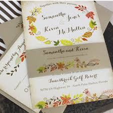 cheap fall wedding invitations products archive serendipity
