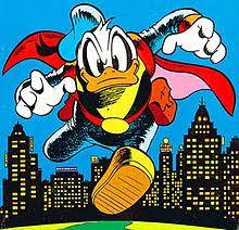 donald duck comics paperinik duck avenger