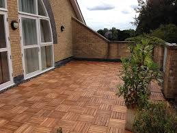 the famous click deck hardwood decking tiles patio balcony