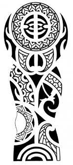 hawaiian tribal tattoos polynesian tribal for arm doodle
