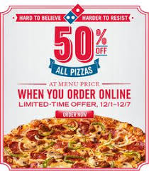 jobs at domino s pizza 50 off online order 50 off domino s pizza great deals pinterest pizza and